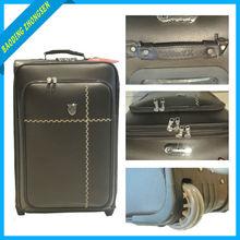 New design aluminum metal suitcase