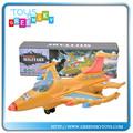 plástico bo juguetes del vehículo eléctrico de avión con la luz y la música