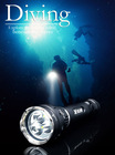 DAKSTAR New Arrival SL4U XML2 U2 4000LM 18650 High Power Aluminum Rechargeable CREE LED Flashlight scuba diving light