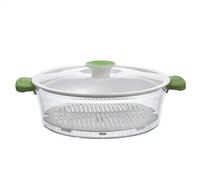 Good quality 1.1L round best slow cooker kitchen steamers with lid
