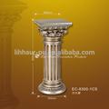 De alta calidad de plata antigua de la pu pedestales/columnas de pilar de la pu