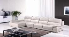 home cinema leather sofa/natuzzi leather sofa outlet/leather adjustable headrest sofa