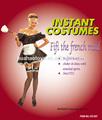 2014 alta qualidade francês da empregada doméstica traje para a festa