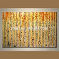 venta al por mayor moderno de estilo libre maravilloso de acrílico con textura el árbol de la vida de la pintura