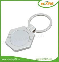 2014 3d shaped mini custom made metal keys keychain