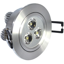New Product 220V 3W Ceiling Led Puck Light Warm/Cold/Nature White