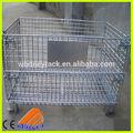 de alambre de metal de almacenamiento de contenedores