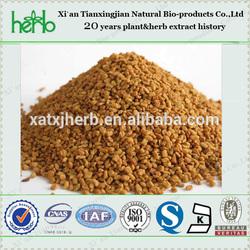 ISO9001 standard fenugreek extract powder 50% saponins