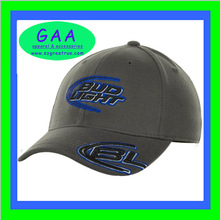 100% cotton mens custom embroidered sports hats and caps
