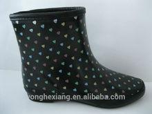 Ankle boot women neoprene rain boots