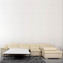 Modern fashion leisure home furniture leather sofa bed 119,italian leather sofa bed