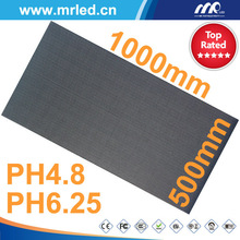 4.8mm 6.25mm pixel pitch full color rental use small size led screen display indoor