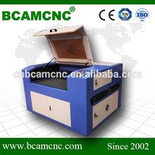 High accuracy laser engraving machine plastic card BCJ1390