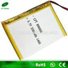 806850 3.7v 3300mah li-ion laptop battery supplier