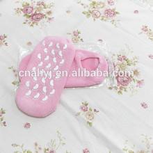 SPA gel socks moisture socks for Absorbing pressure and friction