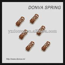 precision gold plating compression spring