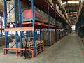 Pesados de armazenamento de metal prateleira pallet rack&