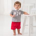 DB961 dave bella plain baby shirt baby branded baby clothing small boys short sleeve tshirt