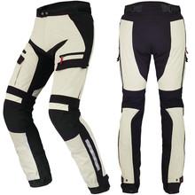 Custom mens racing plus size motorcycle riding pants motorbike clothing
