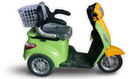 Hot sale 500W three wheel electric double seat mobility scooter