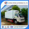 Forland 2 ton small freezer van truck