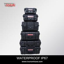 High quality dustproof waterproof plastic firefighting case, model 764840 telescope case, meter case
