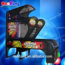 Indoor Arcade Hoops Cabinet Basketball Game/Extreme Hoops Basketball Machine/Crazy Shoot Basketball Machine