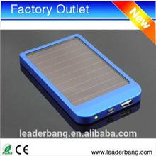 Solar Battery Chargers 2600mAh Portable USB Solar Energy Panel Power Bank