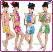 dans giyim caz dans kostüm kızlar hip hop dans giymek