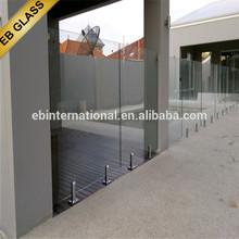Semi Frameless Glass Fencing , EB GLASS