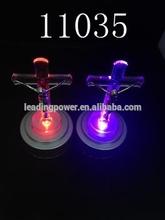 led flashing crucifix /led light up cross/lighted cross/glow cross 11035