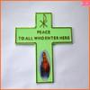2014 new design plastic crucifix cross