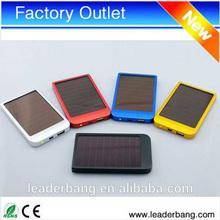2600mah portable solar mobile phone charger/solar cell phone charger/solar power bank