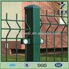 Hot dipped galvanized pvc coated v mesh fence