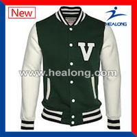 High quality custom made baseball varsity jacket