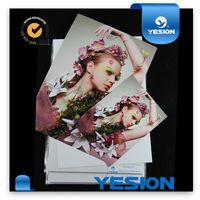 Newest inkjet printing 210g 230g glossy a4 inkjet printing photo paper waterproof 20 sheet transparent bopp bags packing