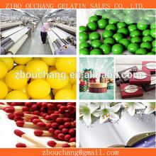 bovine skin industrial adhesive gelatin/gelatine