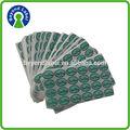 Personalizzati cusotm conservare in frigorifero adesivo foglio di carta da stampa, adesivo bianco adesivo fogli di etichette