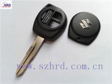 Suzuki car 2 button remote key cover suzuki transponder chip key