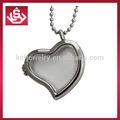 De moda de acero inoxidable del diseño del corazón flotante charm locket venta al por mayor