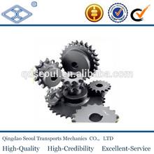 ansi standard stainless steel Industrial chain excavator sprocket wheel ASA60 3/4''X1/2''