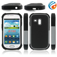 PC+Silicone +TPU Hybrid Combo Cover Shock proof Rugged Heavy Duty Case for Samsung Galaxy s3 mini i8190