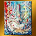 de haute qualité en gros art mural décoratif acrylique peintures