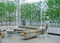 Novo estilo de bambu artificial de plantas, folhas de bambu para a decoração da paisagem