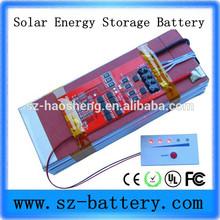 HHS 3.7v 60AH Lipo rechargeable solar battery Street lamp batteries