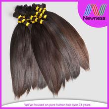 5A grade unprocessed natural asian virgin hair