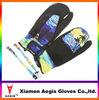 Winter Waterproof Fingerless/half finger ski Gloves,Waterproof Neoprene gloves