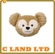 long pile plush cushion/PV Fleece teddy bear cushion cover