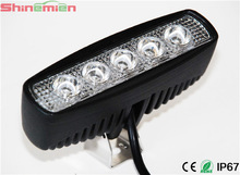 15W Novel design CREE 15W auto led working light BAR,5.5 INCH truck and offload led work lightflood beam