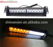 Factory price DC12v 12 led car strobe flashing light high quality